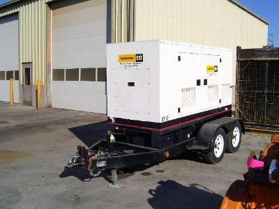 New 60kw Olympian Diesel Generator