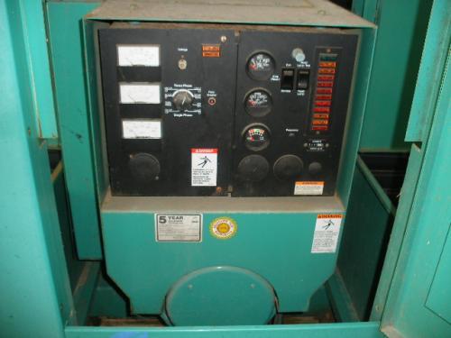 Used 60kw Cummins Onan Natural Gas Generator