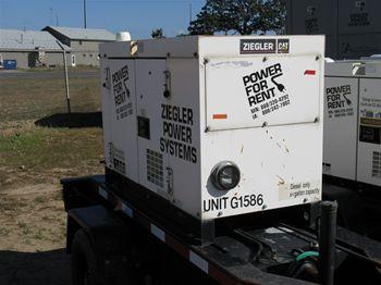 Used 10kW Multiquip Diesel Generator