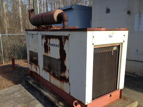 Used 80kW Westinghouse Diesel Generator