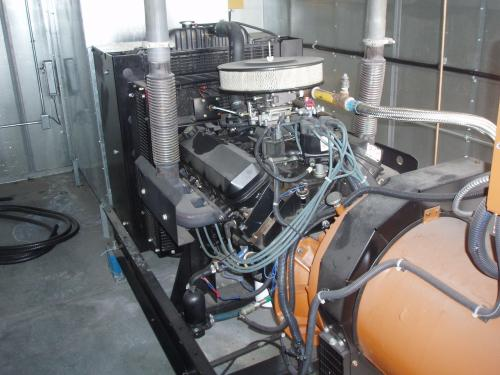 Used 85kw Generac Natural Gas Generator