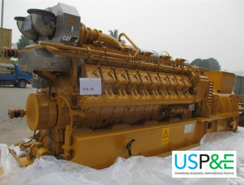 New 2000kW Caterpillar Natural Gas Generator
