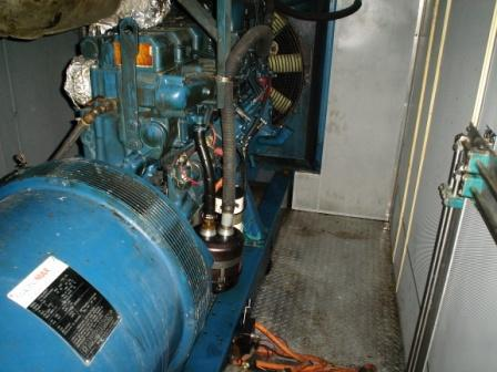 Diesel Fuel Station >> Used 500kW Aggreko Diesel Generator