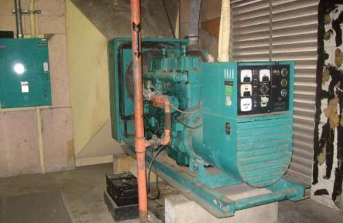 Used 115kw Cummins Onan Natural Gas Generator