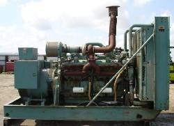 Used 440kW Detroit Diesel Diesel Generator