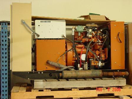 used 10kw generac generator
