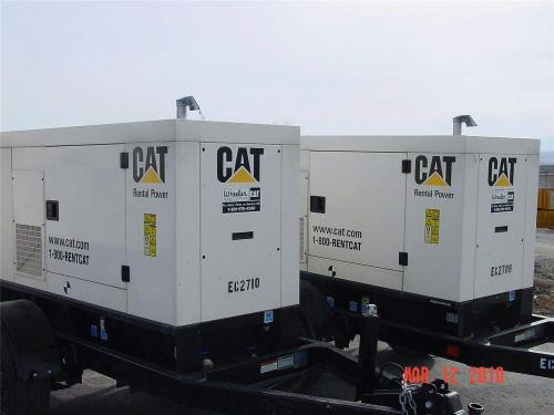 Used 20kW Caterpillar Diesel Generator