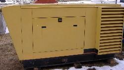 Used 60kW Olympian Natural Gas Generator