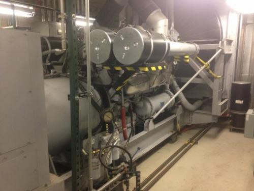 New 1200kW Detroit Diesel Diesel Generator